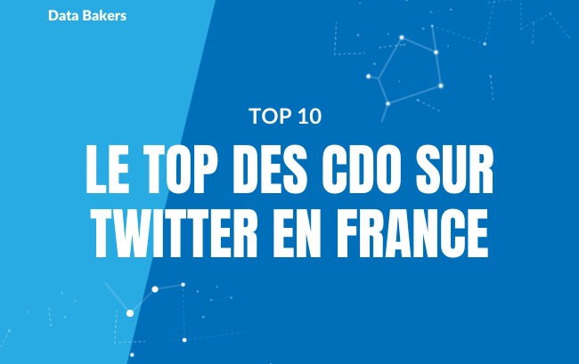 Chief Data Officer : le TOP 10 des comptes Twitter en France