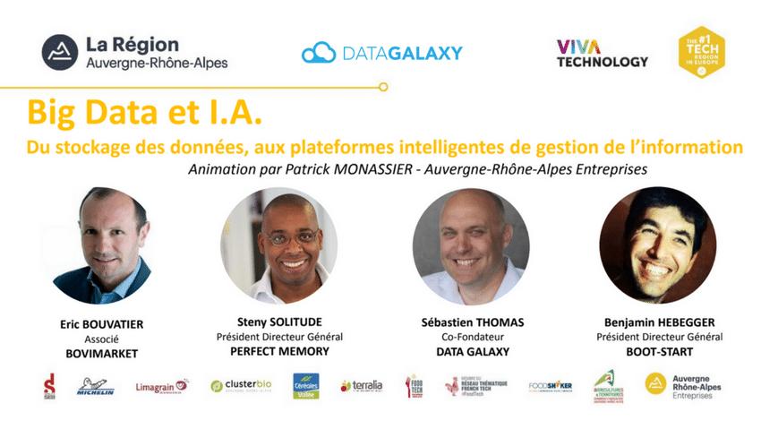 DataGalaxy présent au VivaTech 2018